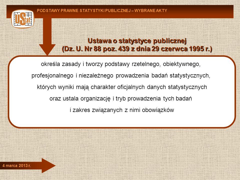 Ustawa o statystyce publicznej