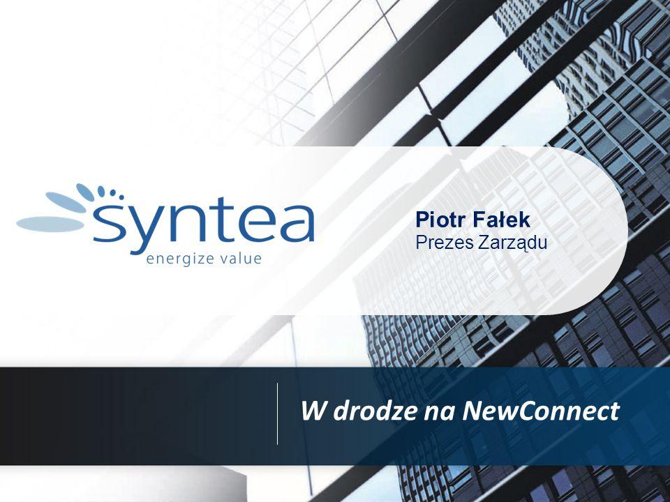 Piotr Fałek Prezes Zarządu W drodze na NewConnect 1