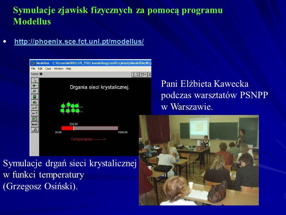 Symulacje zjawisk fizycznych za pomocą programu Modellus