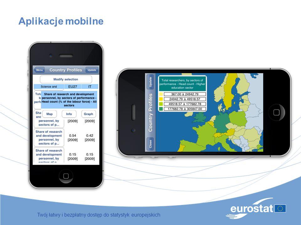 Aplikacje mobilne Twój łatwy i bezpłatny dostęp do statystyk europejskich 50