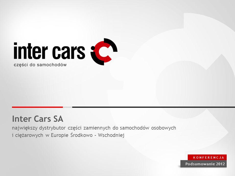 Inter Cars SA największy dystrybutor części zamiennych do samochodów osobowych. i ciężarowych w Europie Środkowo – Wschodniej.