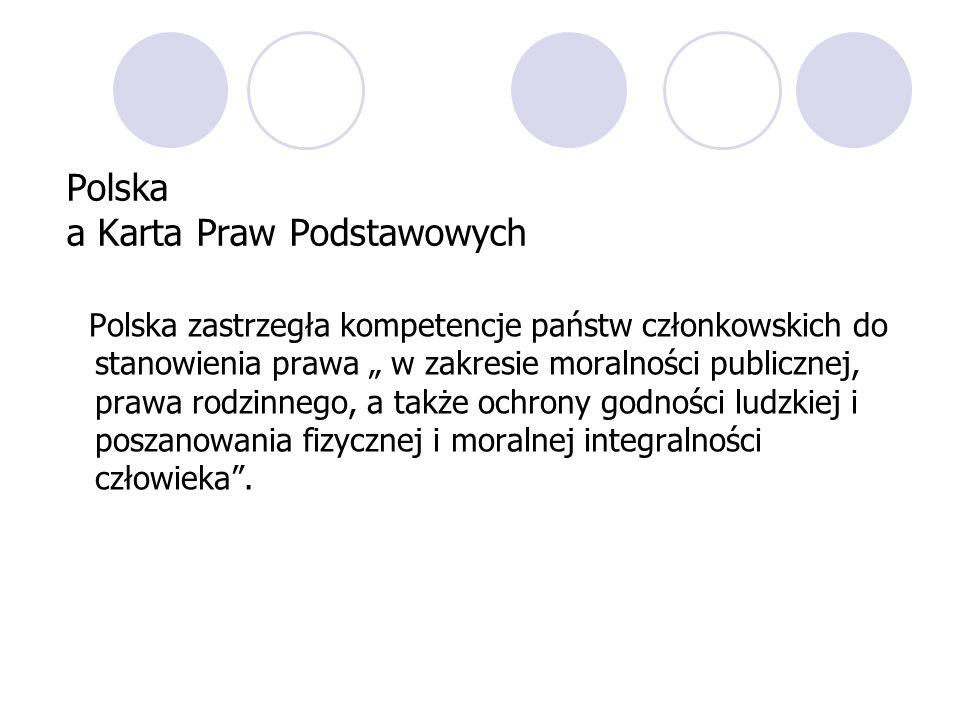 Polska a Karta Praw Podstawowych