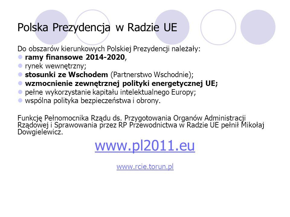 Polska Prezydencja w Radzie UE