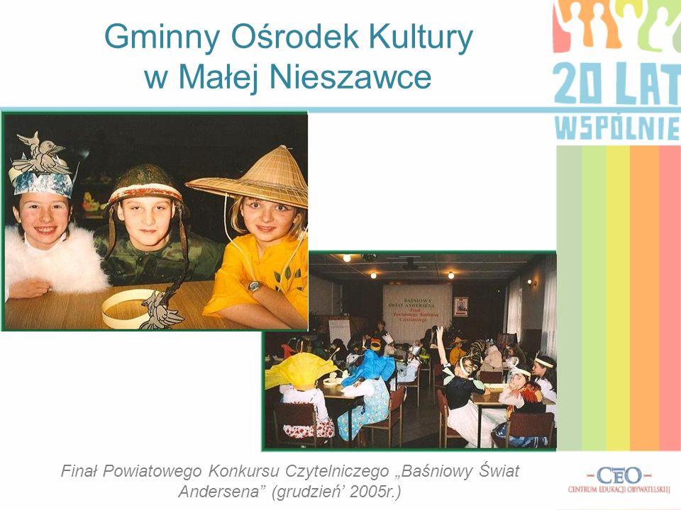 Gminny Ośrodek Kultury w Małej Nieszawce