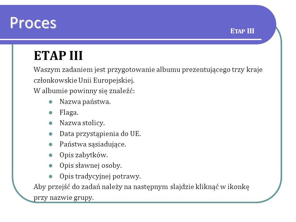 Proces ETAP III Etap III