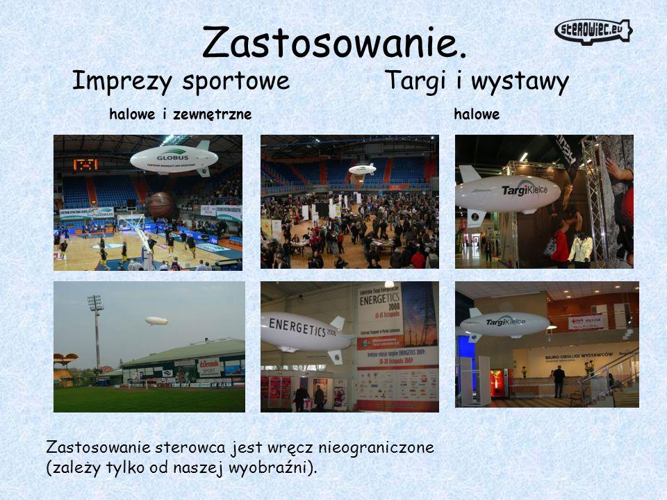 Zastosowanie. Imprezy sportowe Targi i wystawy
