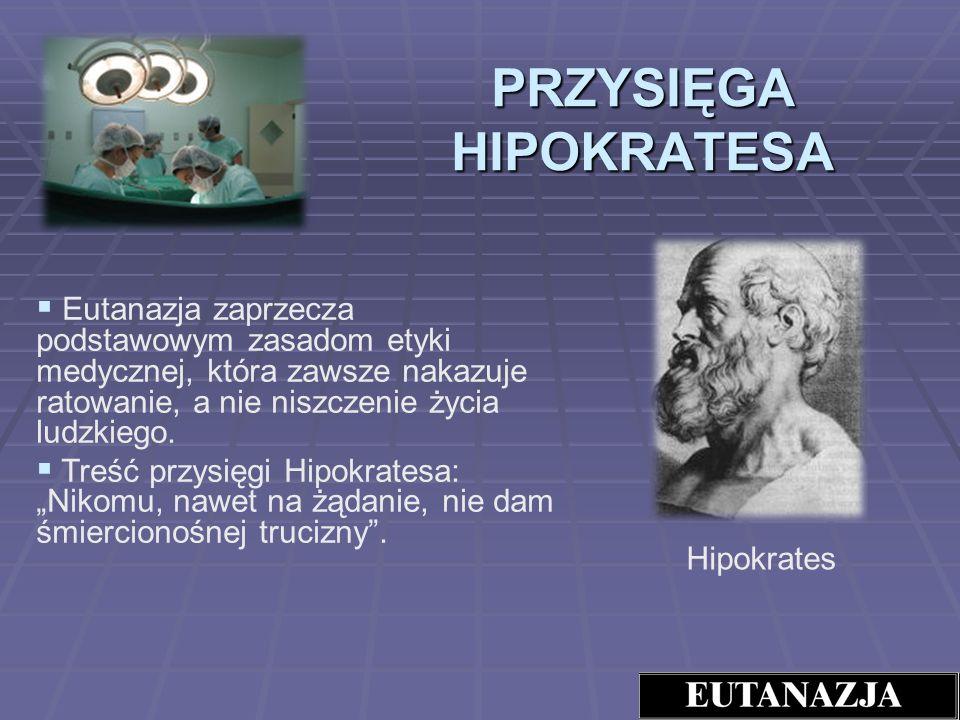PRZYSIĘGA HIPOKRATESA