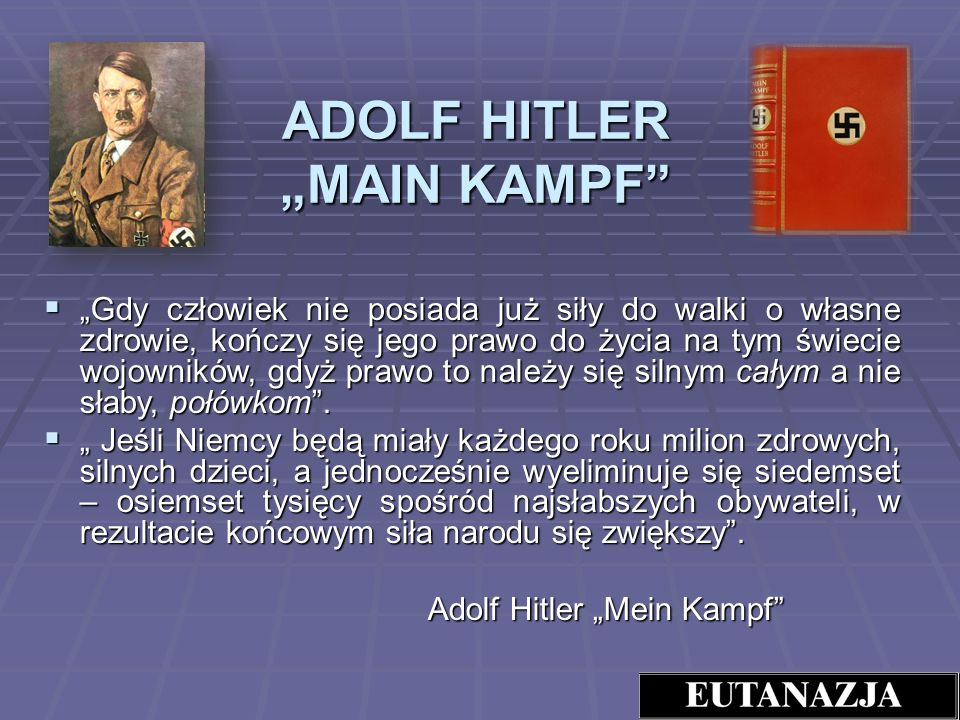 "ADOLF HITLER ""MAIN KAMPF"
