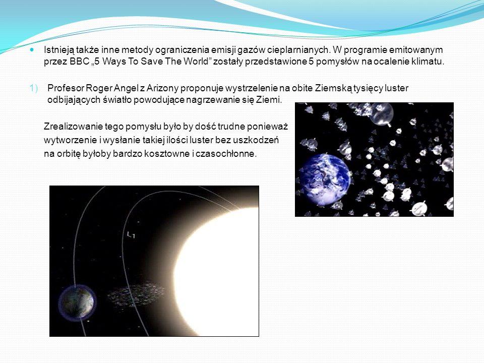 Istnieją także inne metody ograniczenia emisji gazów cieplarnianych