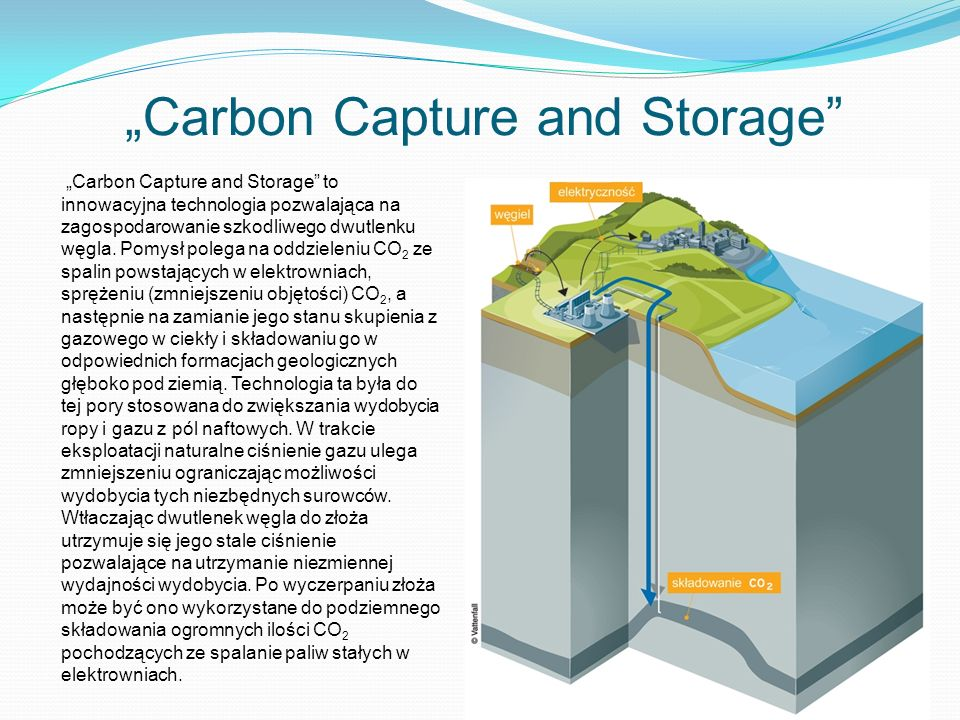 """Carbon Capture and Storage"