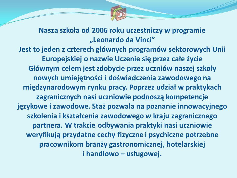 Nasza szkoła od 2006 roku uczestniczy w programie