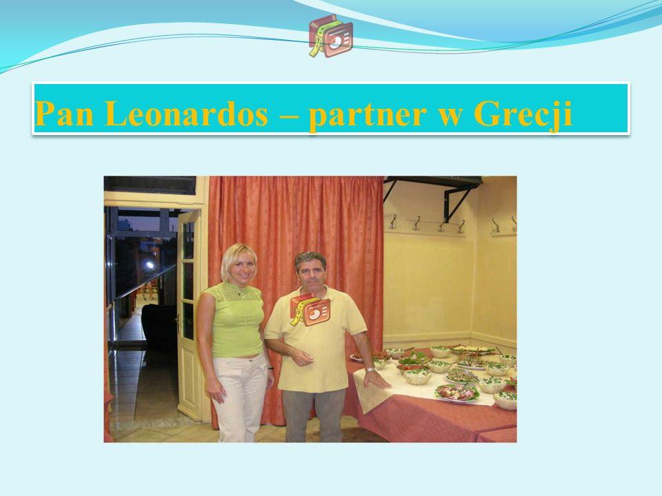 Pan Leonardos – partner w Grecji