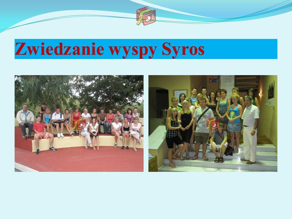 Zwiedzanie wyspy Syros
