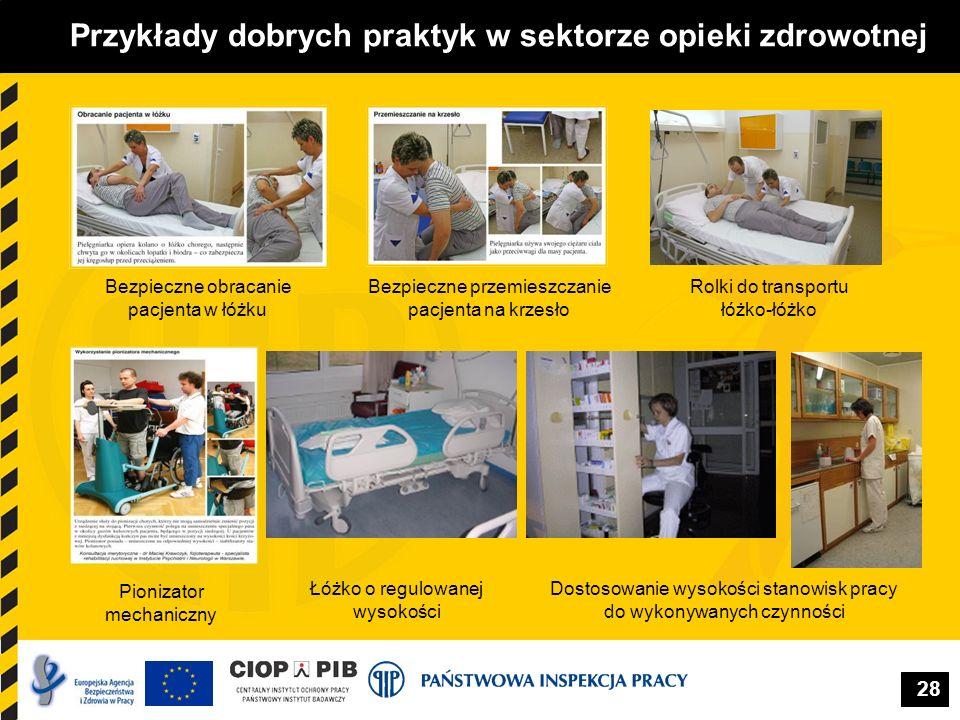 Przykłady dobrych praktyk w sektorze opieki zdrowotnej
