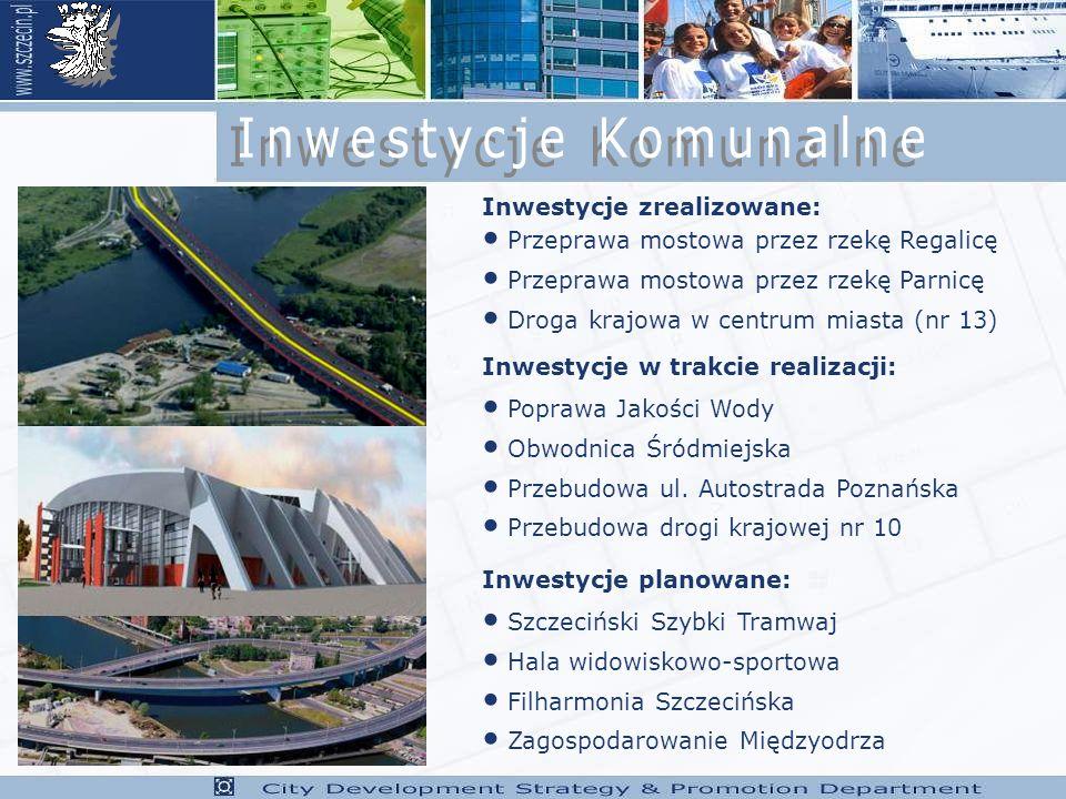 Inwestycje Komunalne Inwestycje zrealizowane: