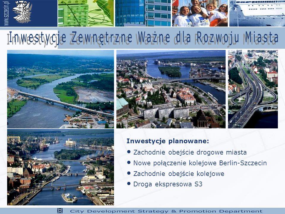 Inwestycje Zewnętrzne Ważne dla Rozwoju Miasta