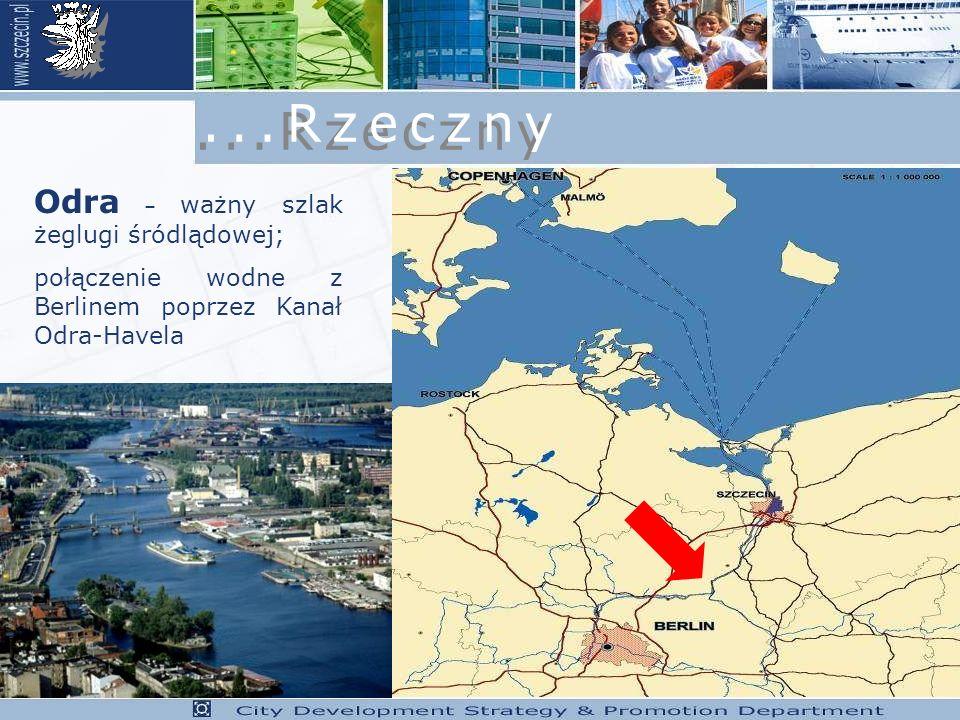 ...Rzeczny Odra – ważny szlak żeglugi śródlądowej;