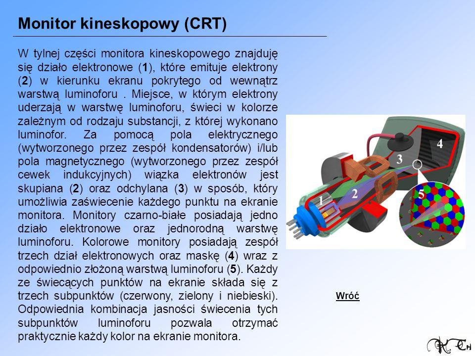 Monitor kineskopowy (CRT)