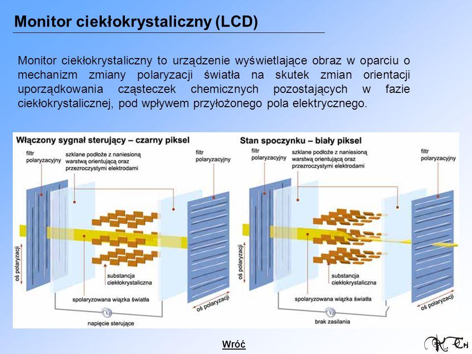 Monitor ciekłokrystaliczny (LCD)