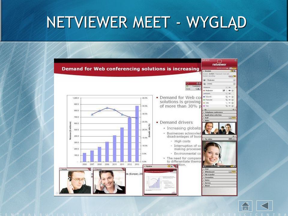 NETVIEWER MEET - WYGLĄD