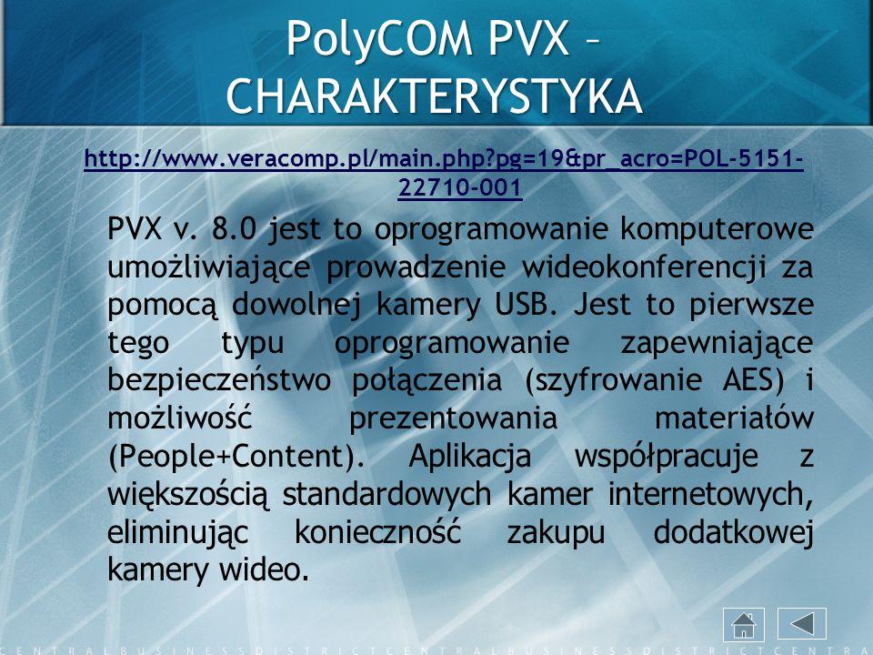 PolyCOM PVX – CHARAKTERYSTYKA