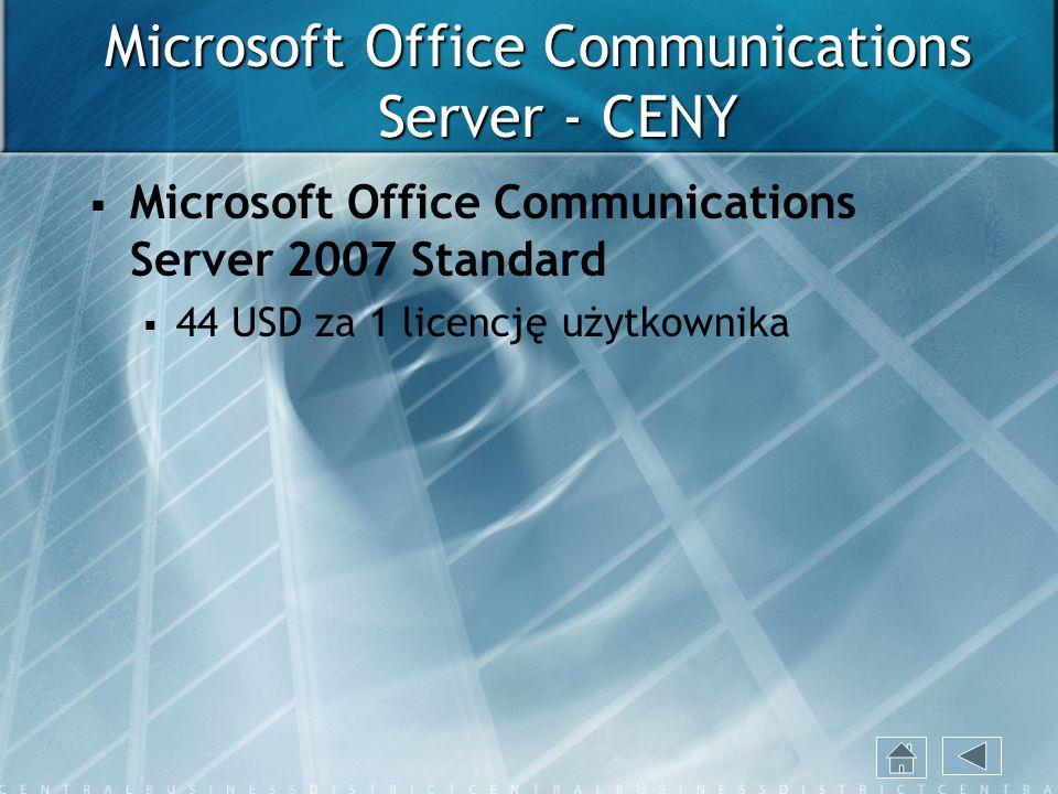 Microsoft Office Communications Server - CENY