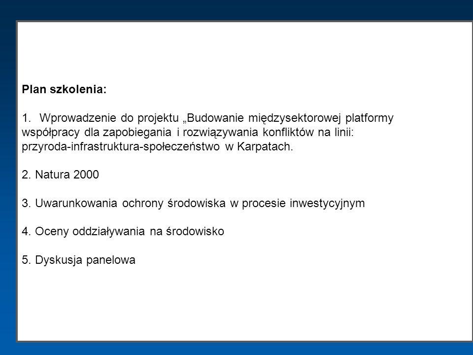 """Wprowadzenie do projektu """"Budowanie międzysektorowej platformy"""