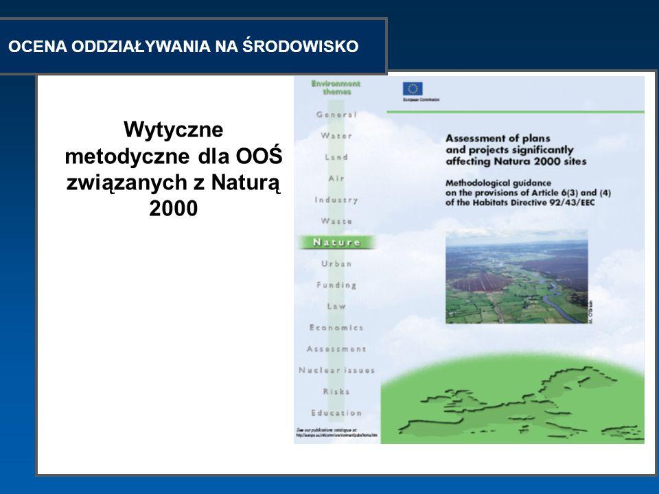 Wytyczne metodyczne dla OOŚ związanych z Naturą 2000