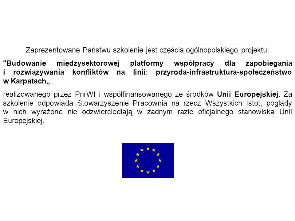 Zaprezentowane Państwu szkolenie jest częścią ogólnopolskiego projektu:
