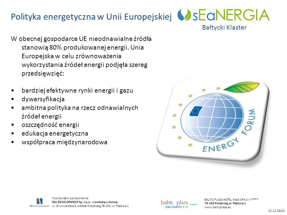 Polityka energetyczna w Unii Europejskiej