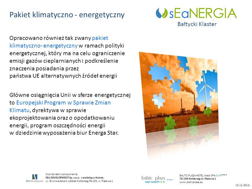 Pakiet klimatyczno - energetyczny