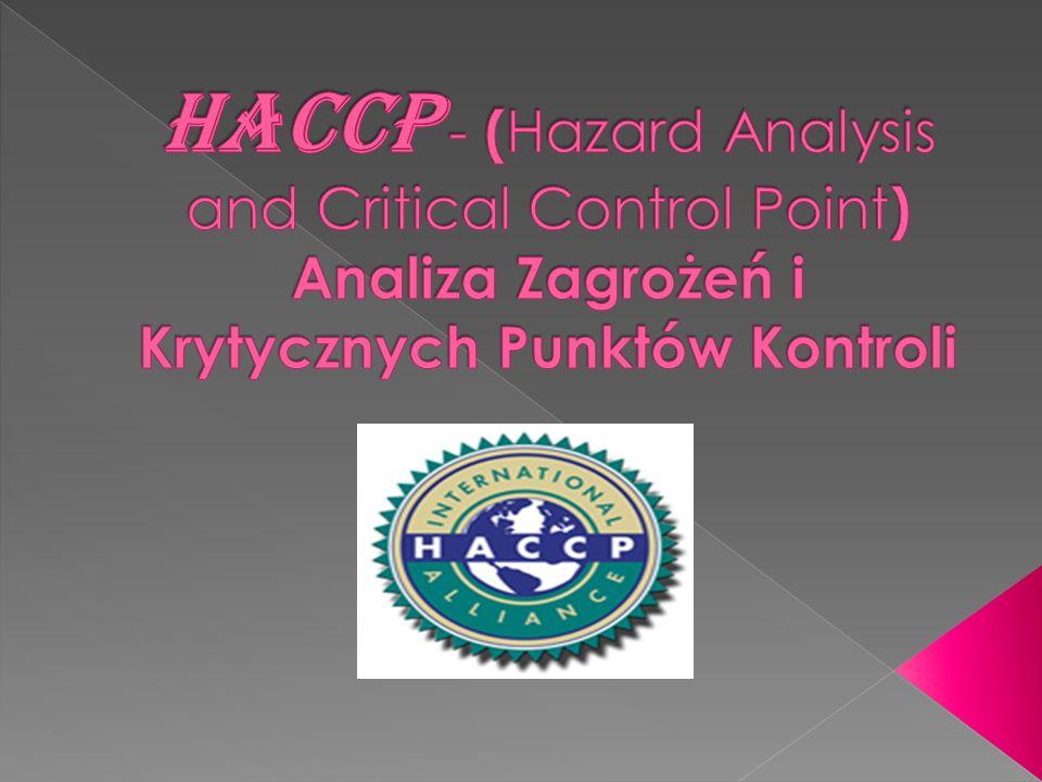 HACCP - (Hazard Analysis and Critical Control Point) Analiza Zagrożeń i Krytycznych Punktów Kontroli
