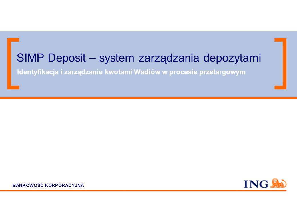SIMP Deposit – system zarządzania depozytami