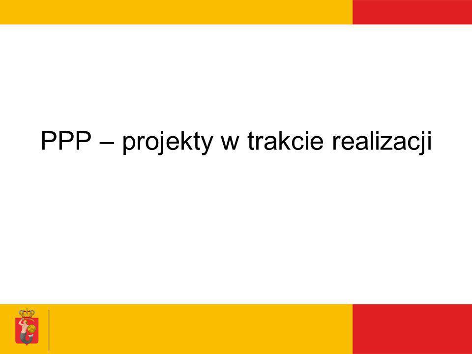 PPP – projekty w trakcie realizacji