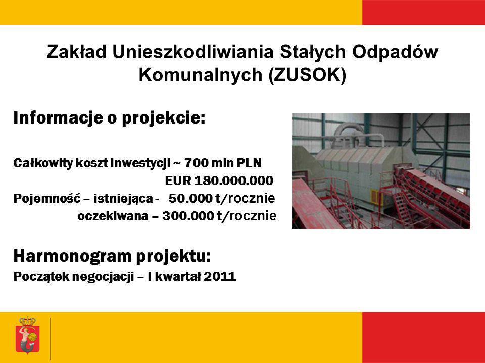 Zakład Unieszkodliwiania Stałych Odpadów Komunalnych (ZUSOK)