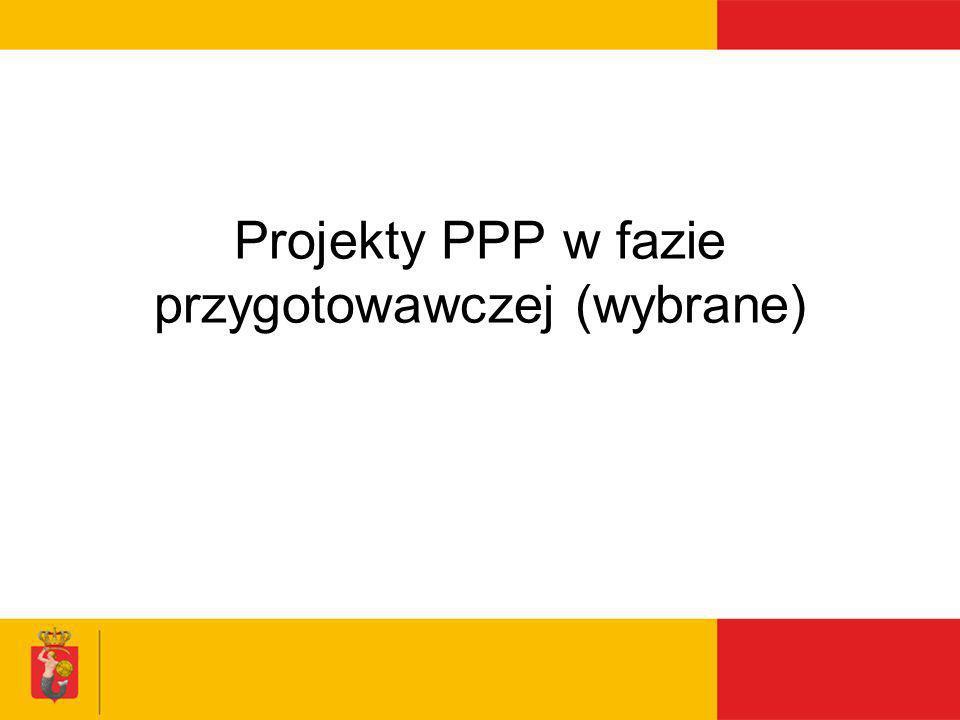 Projekty PPP w fazie przygotowawczej (wybrane)