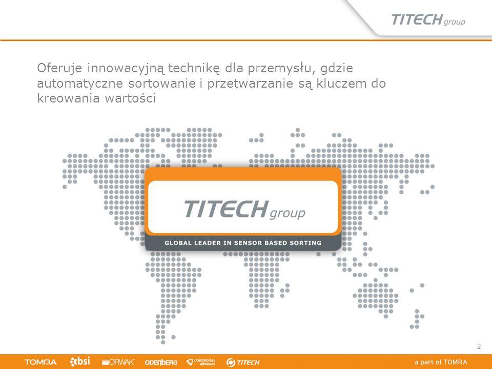 Oferuje innowacyjną technikę dla przemysłu, gdzie automatyczne sortowanie i przetwarzanie są kluczem do kreowania wartości