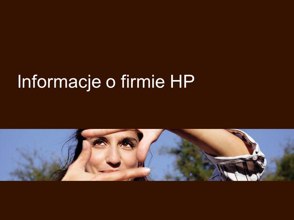 Informacje o firmie HP