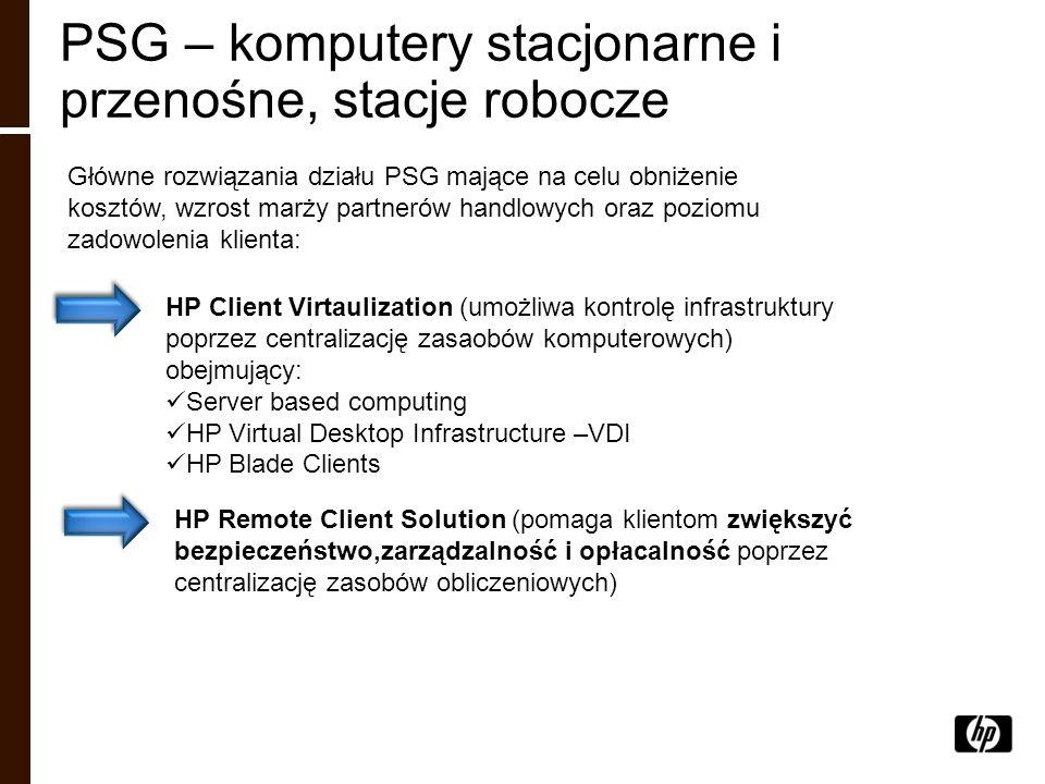 PSG – komputery stacjonarne i przenośne, stacje robocze