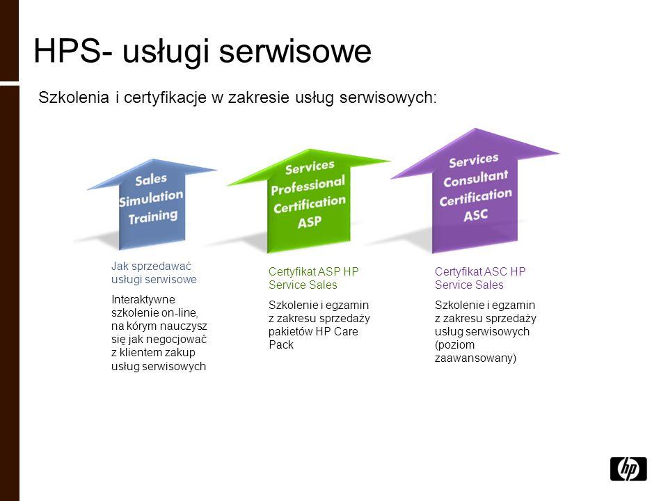 HPS- usługi serwisowe Szkolenia i certyfikacje w zakresie usług serwisowych: Jak sprzedawać usługi serwisowe.