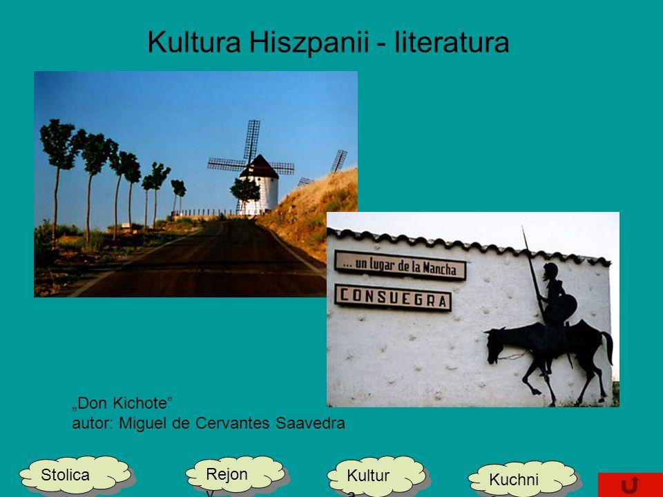 Kultura Hiszpanii - literatura