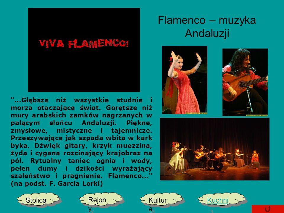 Flamenco – muzyka Andaluzji