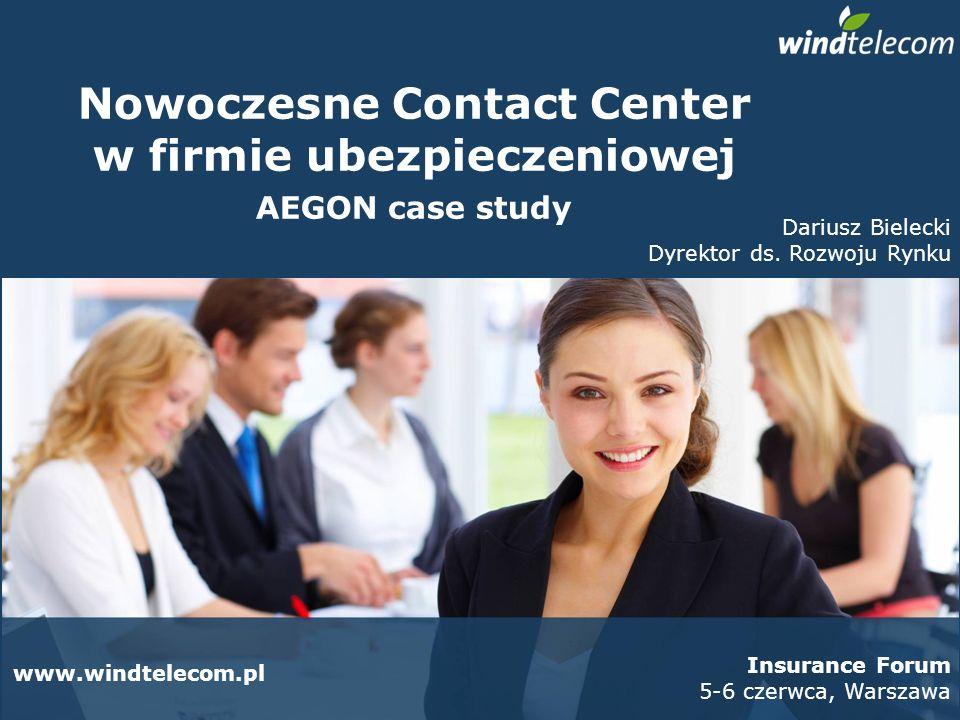 Nowoczesne Contact Center w firmie ubezpieczeniowej
