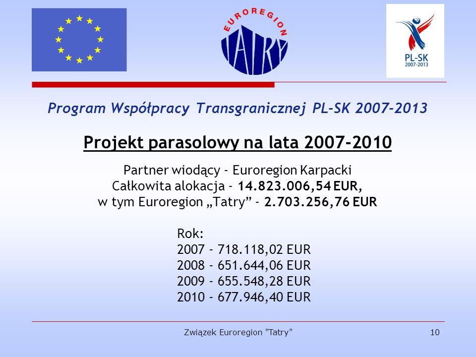 Projekt parasolowy na lata 2007-2010