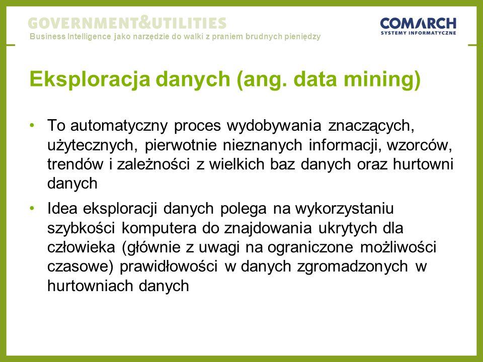 Eksploracja danych (ang. data mining)