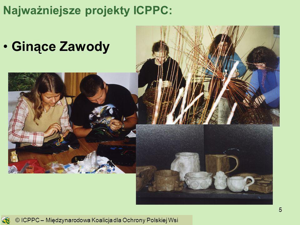 Ginące Zawody Najważniejsze projekty ICPPC: