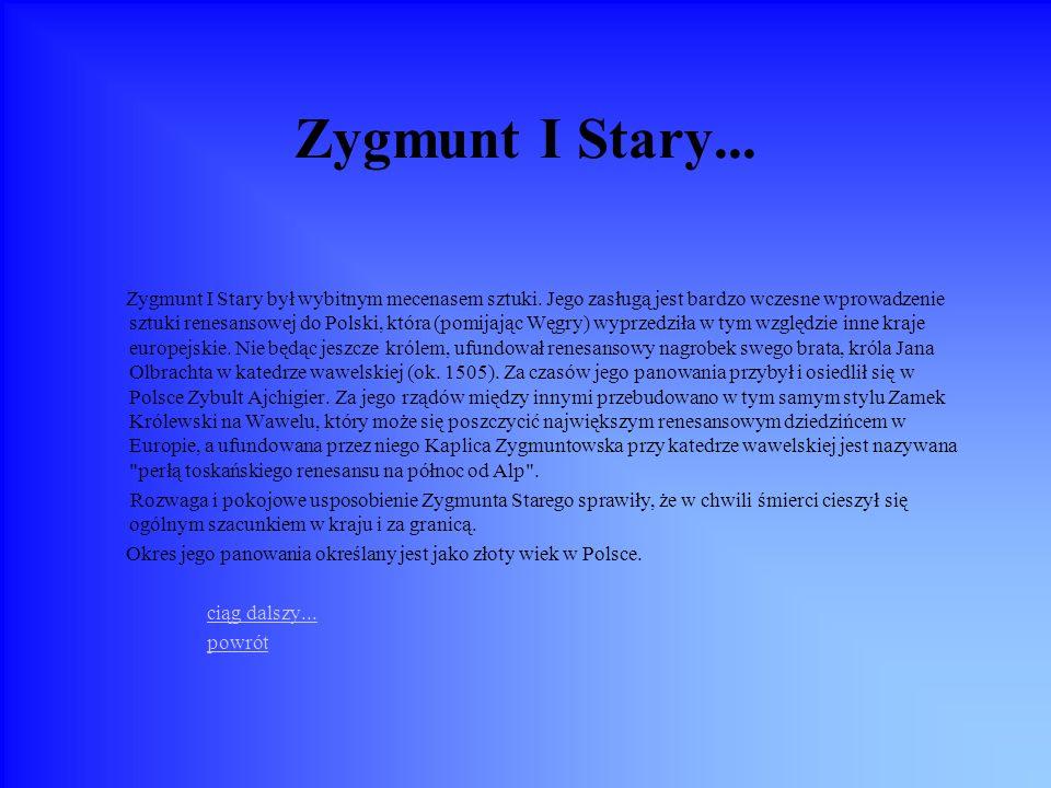 Zygmunt I Stary...