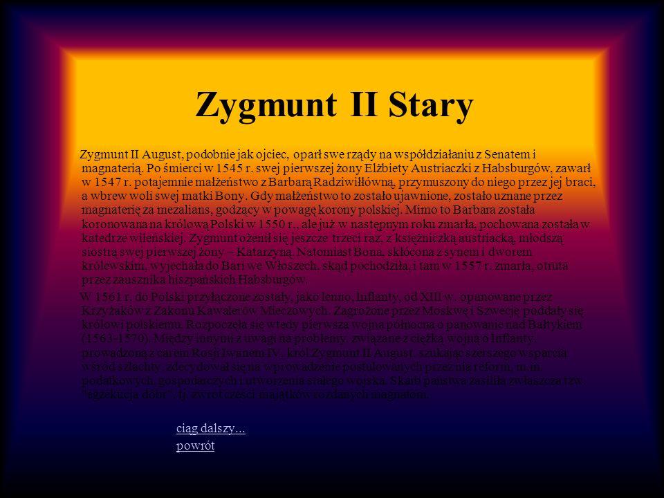 Zygmunt II Stary