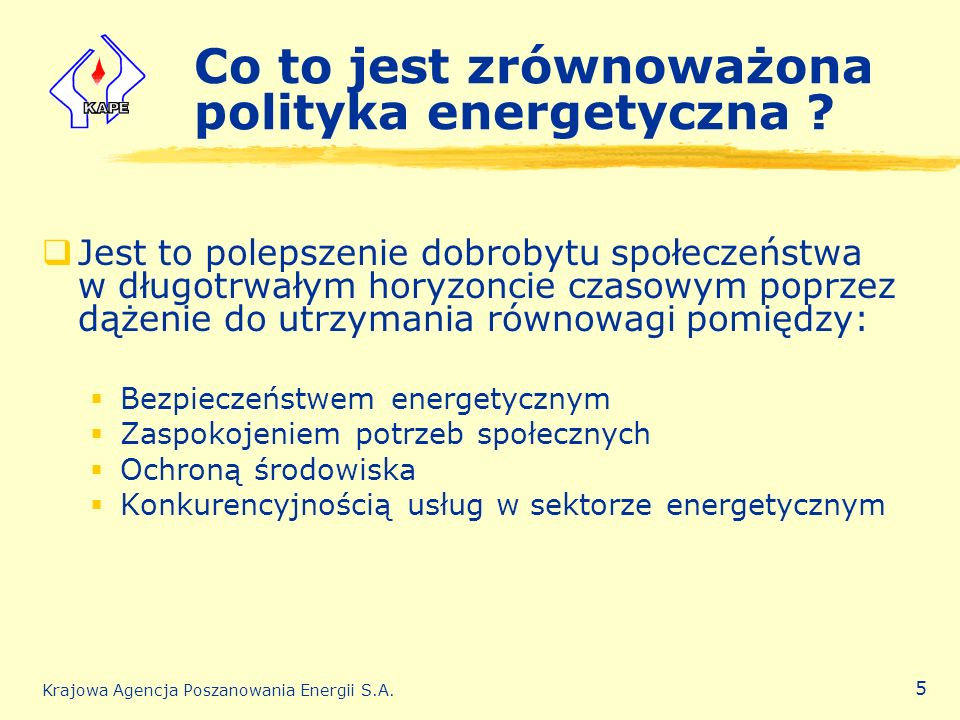 Co to jest zrównoważona polityka energetyczna