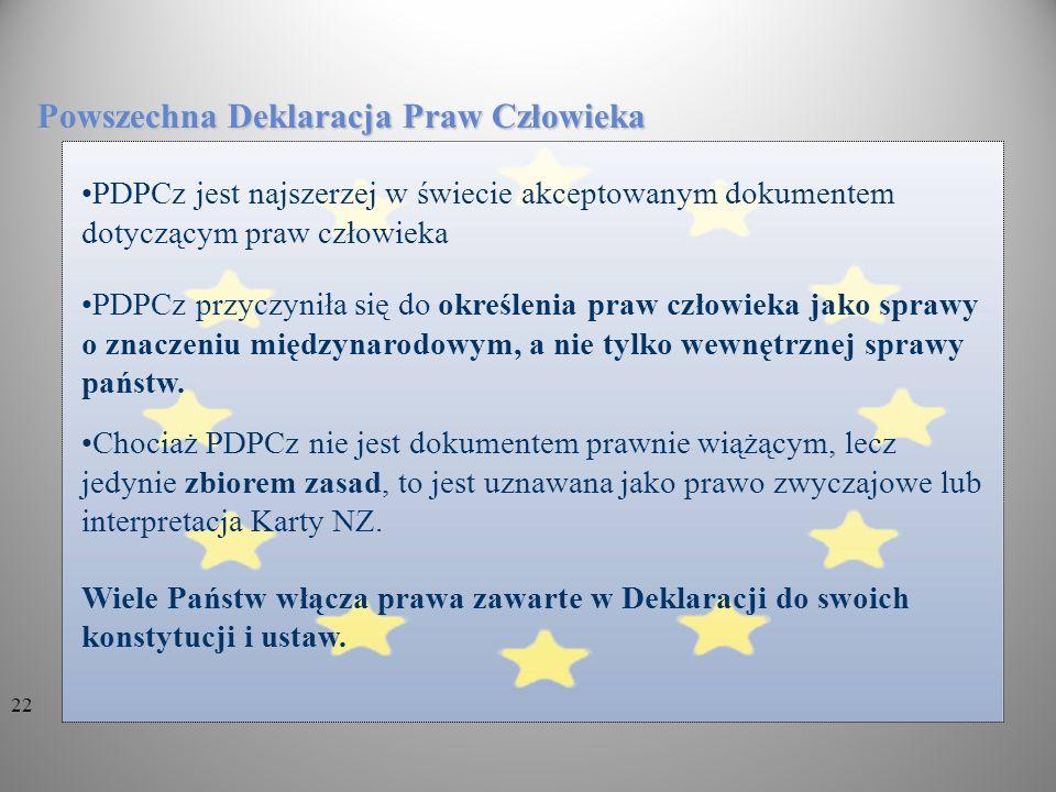 Powszechna Deklaracja Praw Człowieka